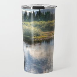 Fall Fly Fishing in Maine Travel Mug