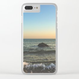 I hear them calling Clear iPhone Case