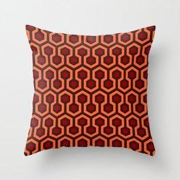 The Overlook Hotel Carpet Pattern Throw Pillow