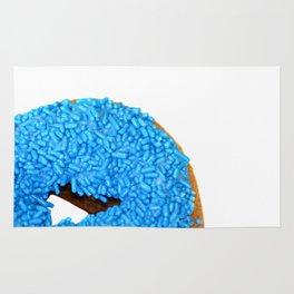 Blue Doughnut Rug