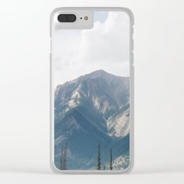 Lost in the Mountains Clear iPhone Case