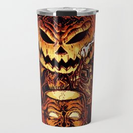 Halloween Pumpkin King (Lord O' Lanterns) Travel Mug