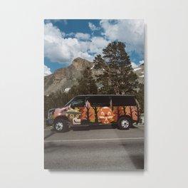 Yosemite Ride Metal Print