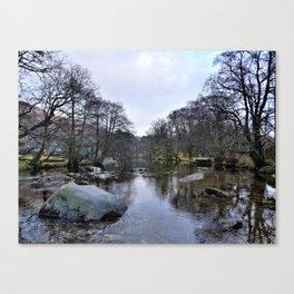 River Brathay 2 Canvas Print