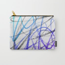 Expressive and Spontaneous Abstract Marker Carry-All Pouch