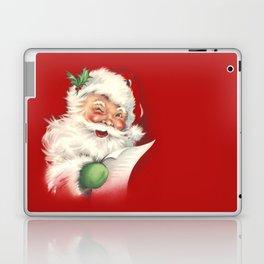 Vintage Santa Laptop & iPad Skin