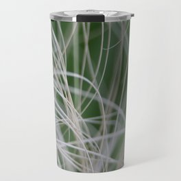 Abstract Image of Tropical Green Palm Leaves  Travel Mug