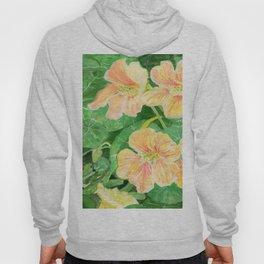 Nasturtium flowers in the garden Hoody