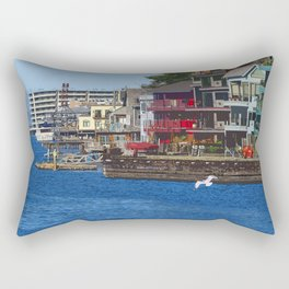 Ship Canal 2 Rectangular Pillow