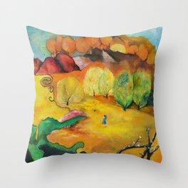 Bluey Bibimbap Throw Pillow