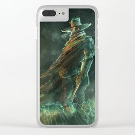 Gunslinger Clear iPhone Case