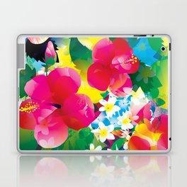 Hawaiian jungle Laptop & iPad Skin
