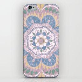 Faded Desert Flower Mandala iPhone Skin