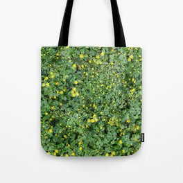 Clover Field Tote Bag