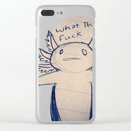 WTF Axolotl Clear iPhone Case