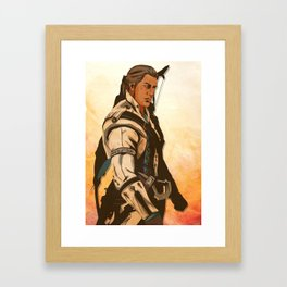 Connor Kenway Framed Art Print