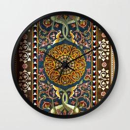 Sicilian ART NOUVEAU Wall Clock