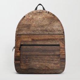 Vintage Wood Backpack