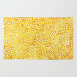 Yellow Bubbles Rug