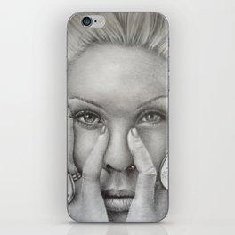 P!NK Fan Art iPhone Skin