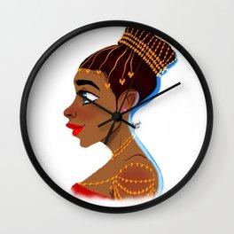 Edo Girl Wall Clock