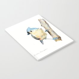 Tufted Titmouse by Teresa Thompson Notebook