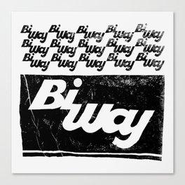 bi way bag Canvas Print
