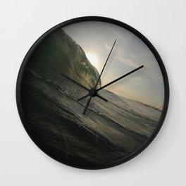 Half Sun Wall Clock