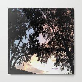 """ September Sunset "" Metal Print"