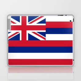 Hawaiian Flag, Official color & scale Laptop & iPad Skin