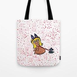 Consuela Catnip & Tiny Tagalong Tote Bag