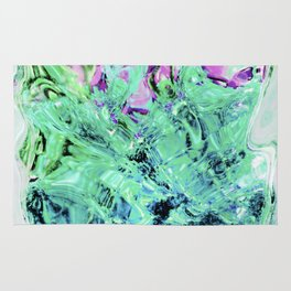 430 - Abstract glass design Rug