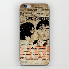Oasis iPhone Skin