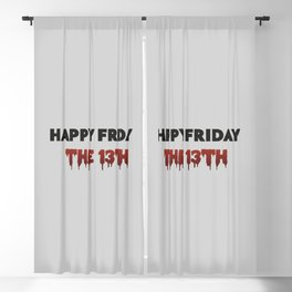The Bloody Friday Blackout Curtain