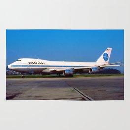PanAm 747 Clipper Rug