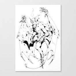 Seraph of Below Canvas Print