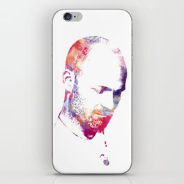 Downie Watercolour Portrait iPhone Skin