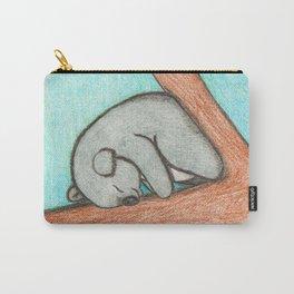 Sleepy Koala Carry-All Pouch