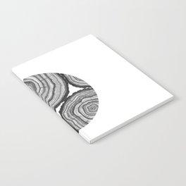 Tree Rings- Circle Notebook