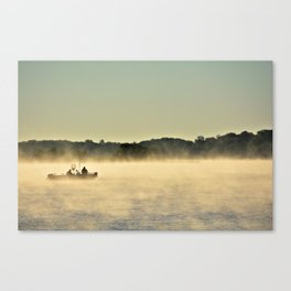 Early On The Lake Canvas Print