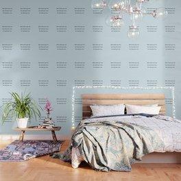 Start where you are - Arthur Ashe - light blue script Wallpaper