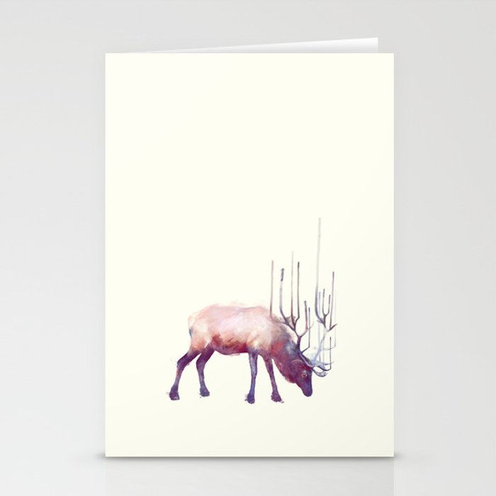 Elk // Solitude Stationery Cards