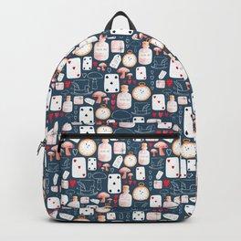 Alice in Wonderland - Indigo madness Backpack