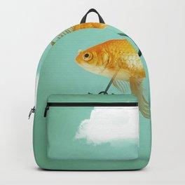 2 wheeled goldfish Backpack
