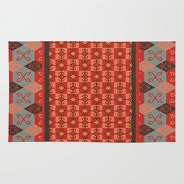 Bohemian Kilim Pattern Mosaic Rug
