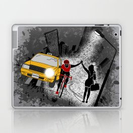 Hailing A High Five Laptop & iPad Skin