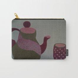 Modern Tea Set Carry-All Pouch