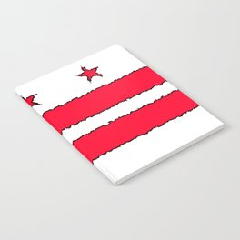 Fancy Flag: Washington, DC    District of Columbia Notebook