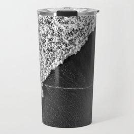 Ocean Waves in Black & White  |  Drone Photography Travel Mug