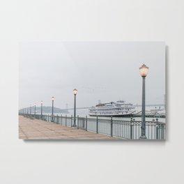 San Francisco Pier Metal Print